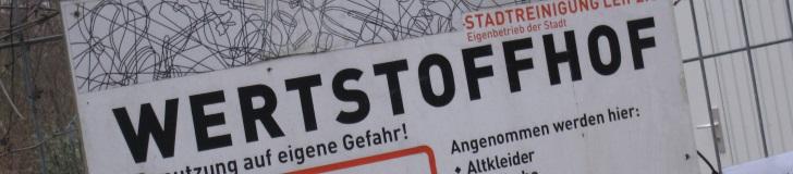 Bild: Wertstoffhof